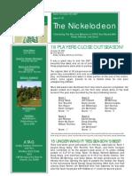 Nickelodeon Newsletter 2007-10-30 - Season Finale