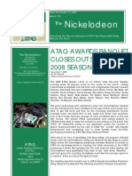 Nickelodeon Newsletter 2008-11-11 - Season Finale