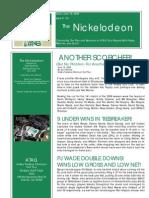 Nickelodeon Newsletter 2009-06-16 - Season Opening