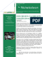 Nickelodeon Newsletter 2009-11-03 - Season Finale