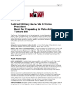 03-06-08 DN!-Retired Military Generals Criticize President B