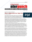 03-07-08 CP-Why is Afghanistan the 'Right War'~ by ROBIN BLA