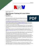 03-07-08 NWV-Mercenaries Training US Local Police Officers B