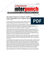 03-08-08 CP-The Silent Violence of Gaza's Suffering That Can