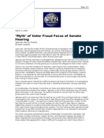 03-09-08 OEN-'Myth' of Voter Fraud Focus of Senate Hearing B