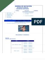 ACADEMIA DE NATACIÓN bnp