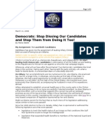03-11-08 OEN-Democrats_Stop Dissing Our Candidates and Stop