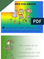 as cores dos amigos