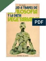 Callizo G R - La Salud Atraves De La Filosofia Y La Dieta Vegetarianas