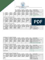 GRUPO II_CALENDARIO TUTORIA PRESENCIAL EAD 2020-II SEMESTRE
