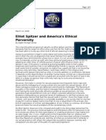 03-12-08 OEN-Elliot Spitzer and America's Ethical Perversity