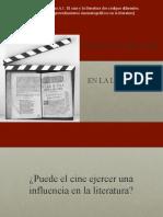 procedimientos cinematográficos en la literatura