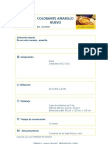 Colorante Amarillo Huevo 41210101