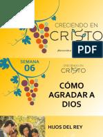 6. Creciendo Em Cristo- Semana 06