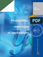 Probabilites, Statistique Et Applications-Presses Internationales Polytechnique (2011)