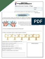 Atividade de Revisão 5º ano I Unidade 2020 PDF