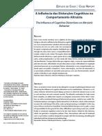 A Influência das Distorções Cognitivas no Comportamento Altruísta