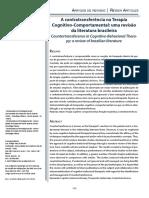 A Contratransferência Na Terapia Cognitivo-Comportamental - Uma Revisão Da Literatura Brasileira