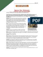 03-22-08 Der Spiegel-German Intelligence Was Dishonest, Unp