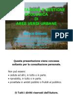 Manuale di Ecologia Urbana
