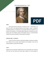 Aula 16 - Rousseau