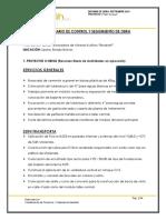 Informe de Obra 01-10-2019