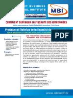 Certificat Superieur en Fiscalite