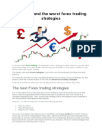 The Best and the Worst Forex Trading Strategies