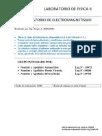 LABORATORIO N°5 ELECTROMAGNETISMO - GRUPO SILVER-GAUNA-PARDO