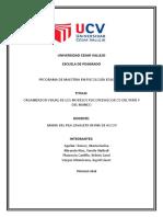 ORGANIZADOR VISUAL DE MODELOS PSICOPEDAGOGICOS EN EL PERU Y EN EL MUNDO