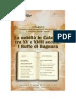 Convegno Ruffo di Bagnara