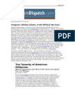 02-03-08 TomDispatch-The Tenacity of American Militarism by