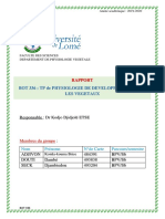 TP Rapport Finale Bot 336 (Croissance Et Tropisme)