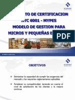 PROYECTO MYPES - ICONTEC 2010 SV