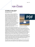 02-05-08 New Yorker-A Strike in the Dark by Seymour M Hersh