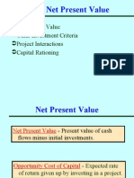 Ch 7- Net Present Value