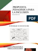 Proyecto Pedagógico Individual Para La Inclusión