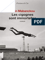 Alain Mabanckou - Les Cigognes Sont Immortelles