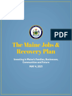 The Maine Jobs & Recovery Plan
