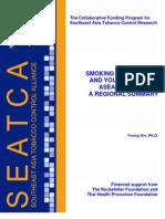 Regional Summary on Smoking Among Girls