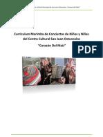 Curriculum Marimba de Conciertos Centro Cultural