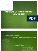 DESIGN OF SMPS USING SIMULINK
