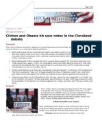 02-27-08 FactCheck-Clinton and Obama Hit Sour Notes in the C