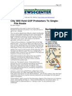 02-28-08 CD-City Will Hold GOP Protesters to Single-File Rou