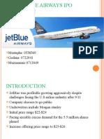 Jetblue ipo total capital