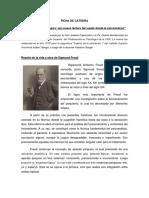 Ficha 1 -Ruptura epistemológica. Una nueva lectura del sujeto desde el psicoanálisis