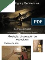 Espeleología y Geociencias. Presentación por Dr. Pierre CALLOT