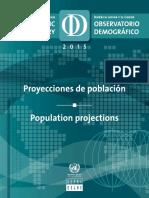 CEPAL-Proyecciones de Población ALatina-Por País-Año 2015