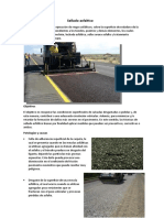Sellado asfaltico