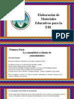 Elaboracion Ed Materiales Para La